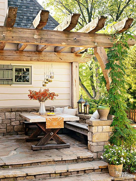 Cómo maximizar tu pequeño patio